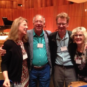 Deborah Brown, Barry Snyder, Jeff Gilliam, Marnie Segger at Tobias Matthay Festival, Eastman School of Music, June 2015